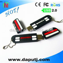 custom private pvc usb flash drive for promotion shenzhen manufacturer