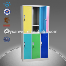 steel clothes locker with hanging rods