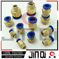 made in china one touch union copper fitting solenoid valve connector