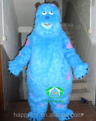 2015 happy island hot selling big hero sully mascot costume, cartoon characters
