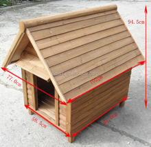 RIMAX Pet Outdoor Shelter Warm Sun Rain Winter Weather Proof large wooden dog house for sale