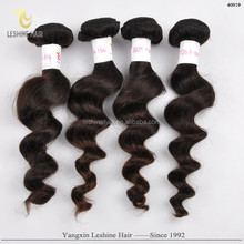 Fast Delivery double weft 6a 7a 8a unprocessed remy virgin brazilian loose deep wave hair weave