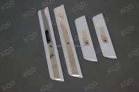 Hot car toyota hilux revo 2015 stainless steel door sill scuff plate in pickup pick up car