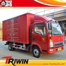 chinese famous brand 4x2 customized left right hand steering 100hp 79KW engine diesel euro4 mini cargo lorry van