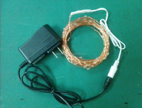 high quality copper wire 100 Led 10M string light for holiday