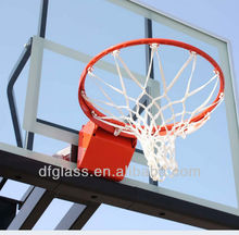 tempered glass clear basketball backboards