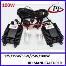 car accessaries hottest 12v 24v 65w 75W 100w 150w HID Kit With High Quality Big Ballast