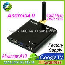 MK805 Allwinner A10 Android 4.0 dvb t2 for thailand