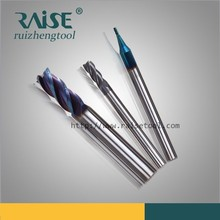 high quality 4 flute flattened end mill, brazed carbide end mill, carbide brazed end mill cutters