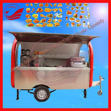 Snack And Beverage Application Application Hamburgers Carts Food Cart For Sale