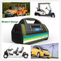 Alta qualidade Scooter elétrico carregador de bateria, 48 V carrinho de golfe elétrico carregador de bateria, Carregador de bateria paleteira elétrica
