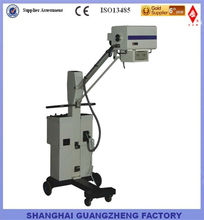 70mA mobile x ray equipment for radiology human pet vet animal with four-way moveable bed Shanghai True Manufacturer