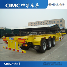 CIMC Skeleton Semi Trailer Container Chassis, 40FT Container Chassis Trailer