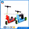 Wholesale high quality best price hot sale most popular electric balance frog children 3 wheel hand brake kick n go scooter