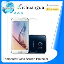 Newest premium 2.5D tempered glass screen protector for samsung galaxy S6 edge