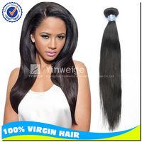 "3pcs lot 12"" Free shipping Peruvian straight natural color hair,free weave hair packs"