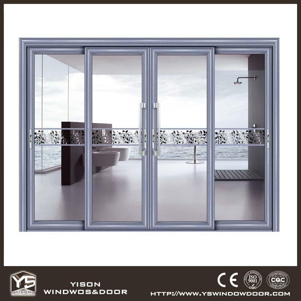 High quality interior sliding door living room aluminum for Good quality interior doors