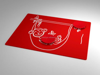 OEM/ODM Personalized Printed Placemats Table Place Mats Silicone Coasters Tableware
