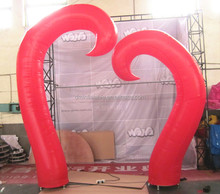 wedding outdoor inflatable decoration,outdoor inflatable valentine decoration