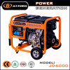 electric start diesel Generator price with spare, small portable diesel generator