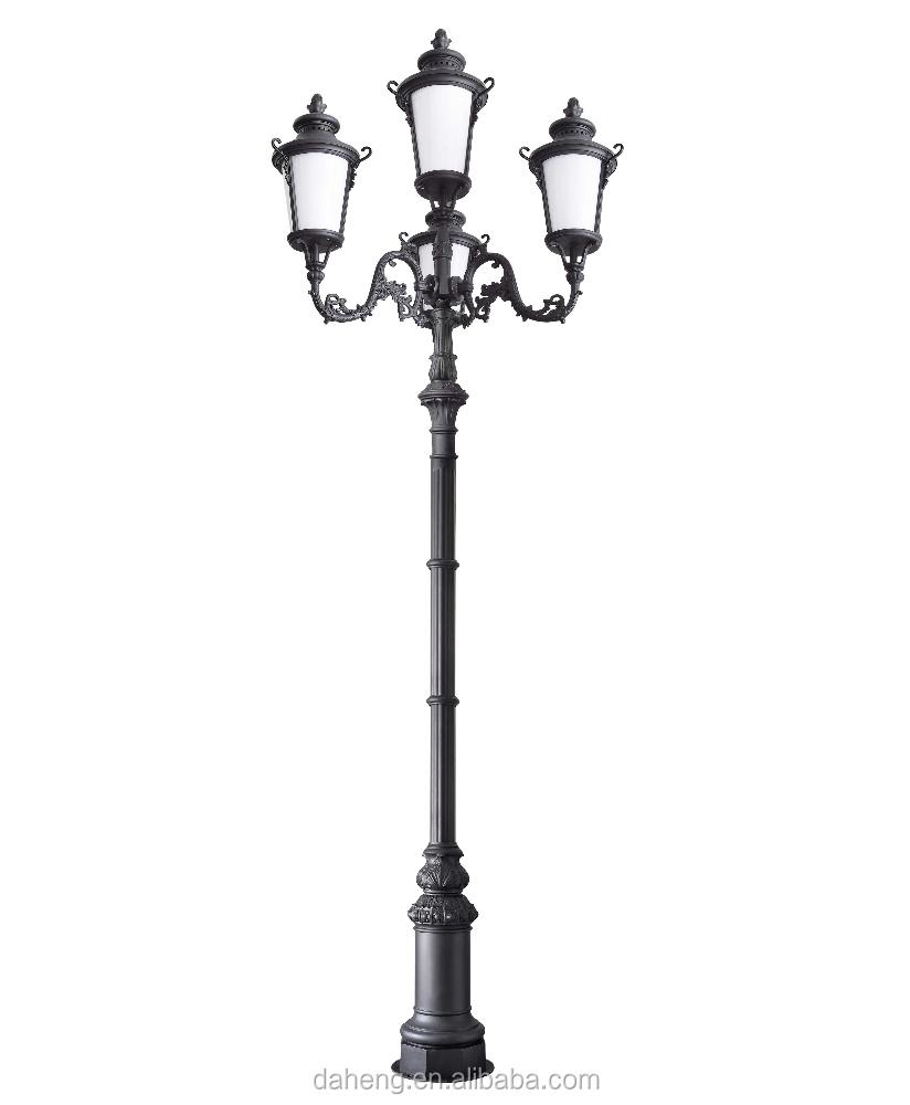6m Decorative Garden Lighting Pole Light/landscape Light .