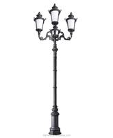 6M Decorative Garden Lighting Pole Light/Landscape Light Pole