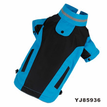 High Performance Water and Wind Proof Fabric Reflective Stripe Pet Clothing