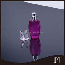 Coating glass perfume bottle with pump sprayer
