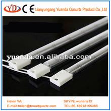 blanco reflecter halógeno lámparas de calor infrarrojo para la pintura de secado