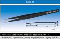 ESD-11 Vetus ESD Stainless Steel Tweezers for Semiconductor Industry