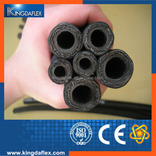 Supply high pressure rubber hose to Russia Market with good reputation and feedback for hydraulic equipment