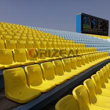 plastic stadium chair price OZ-3057,plastic stadium seats/arena seating for sale