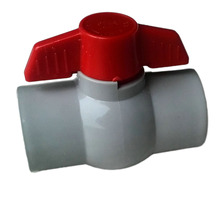 PVC Material pipe fittings and pvc ball valves