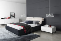 China supplier manufacture Reliable Quality white pvc modern bed frame