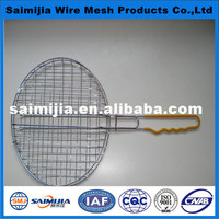 high quality new type barbecue wire mesh with handle
