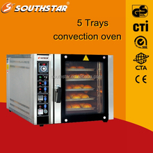100% manufacturer SOUTHSTAR 5 trays easy cook turbo italian convection oven