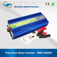 pure sine wave inverter DC 12v AC 220v 2000w inverter pure sine wave for solar