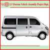 Euro IV Emission Standard 40L Fuel Tank 1.3L Gasoline Mini Van Passenger Van (KD kits available for local assembling)