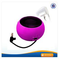 AWS049 Gift Portable Mini Amplifier Hamburger Speaker Mylar Outdoor 40mm Speaker