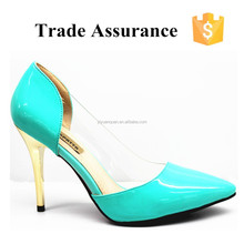 high cut light green shoes for women