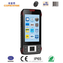 OEM/ODM factory quad core android smartphone with fingerprint scanner, rfid card reader