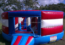 Used commercial inflatable bouncer combo inflatable tunnel game for kids