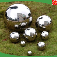 Stainless steel garden ornaments,stainless steel sphere for outdoor decoration