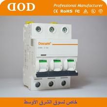 IC65 IC60 IC65N IC60N new design 1P 2P 3P 4P 2-63A OEM electrical mcb mini circuit breaker