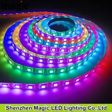60Pixel/m 60leds/m RGB DC5V WS2812 WS2812B LED STrip Silcone glue