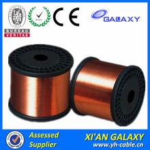 clase 130 155 180 200 auto soldables de poliuretano esmaltado alambre de cobre para el bobinado del motor