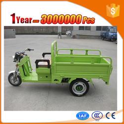 novel e rickshaw trike with open body