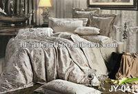 Bedcover Set / Silk Quilt Covers / reactive prints design bedsheets JY-041