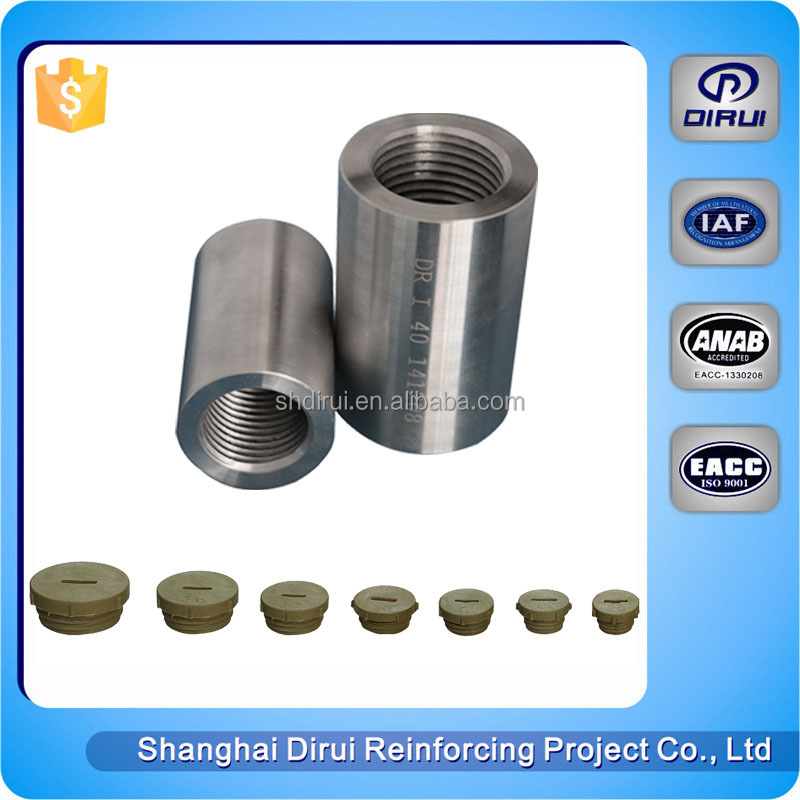 Barras de refuerzo de acoplamiento roscado tornillo acoplador máquina máquina atornillado de barras de refuerzo acoplador