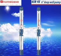 6 inch agriculture irrigation submersible water pump, deep well pump, farm irrigation pump with CE approval